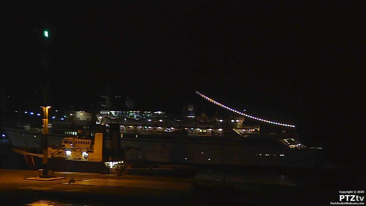 Port Aruba Webcam - An Aruba Port and Cruise Ship Web Cam in